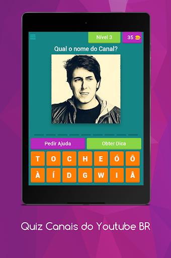 Quiz Canais Youtubers Brasil 8.5.1z screenshots 16