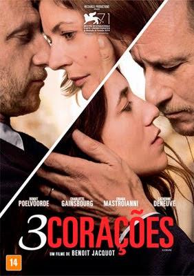 Filme Poster 3 Corações DVDRip XviD Dual Audio & RMVB Dublado