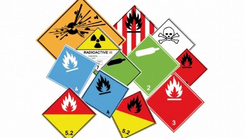 Señaleticas para transporte de mercancías peligrosas