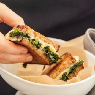 Grilled Cheese and Greens.