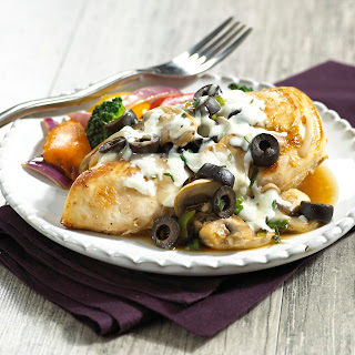 Chicken Supreme with Black Olives