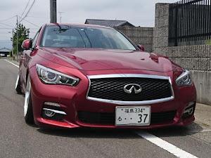 スカイライン HV37 typePのカスタム事例画像 伸弥@赤い車さんの2020年06月12日22:36の投稿