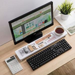 Organizator din lemn pentru birou, 48 x 14 x 7 cm