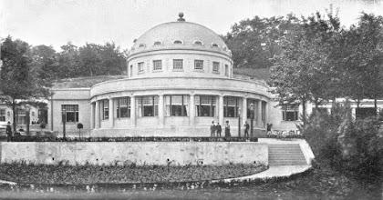 Photo: Das alte Parkhaus. Quelle: Offizieller Führer durch Hagen i. W. und Umgegend, Hagen in Westfalen o. J. (erschienen im Zeitraum Dezember 1910 bis März 1911).