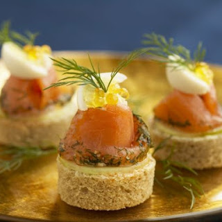 Cured Salmon Bites
