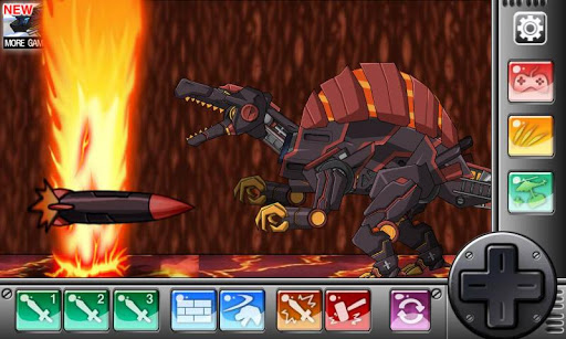 Combine! Dino Robot-MagmaSpino 1.2.1 screenshots 4