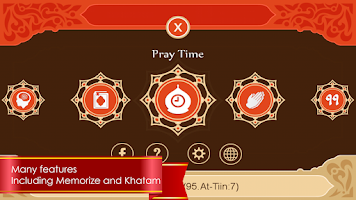 Screenshot of Quran MyQuran in English
