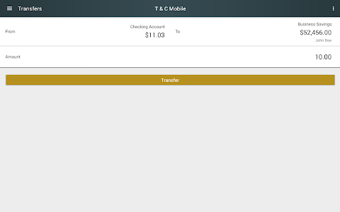 Town & Country Mobile Banking screenshot 7