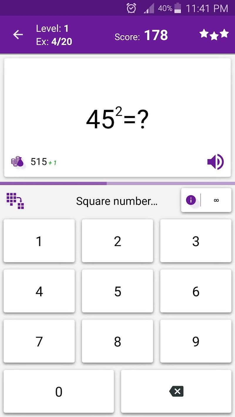 Math Tricks Screenshot 3