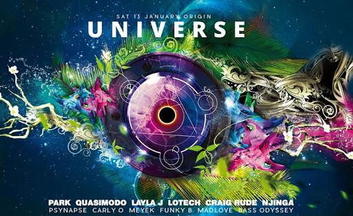 Origin Universe : Origin Nightclub