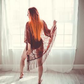 Celestial Fire by Jessica Shelton - Nudes & Boudoir Boudoir ( model photography, studio photography, natural light, boudoir photography, portrait photography )