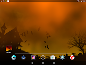 Scary Halloween Live Wallpaper app for Android screenshot