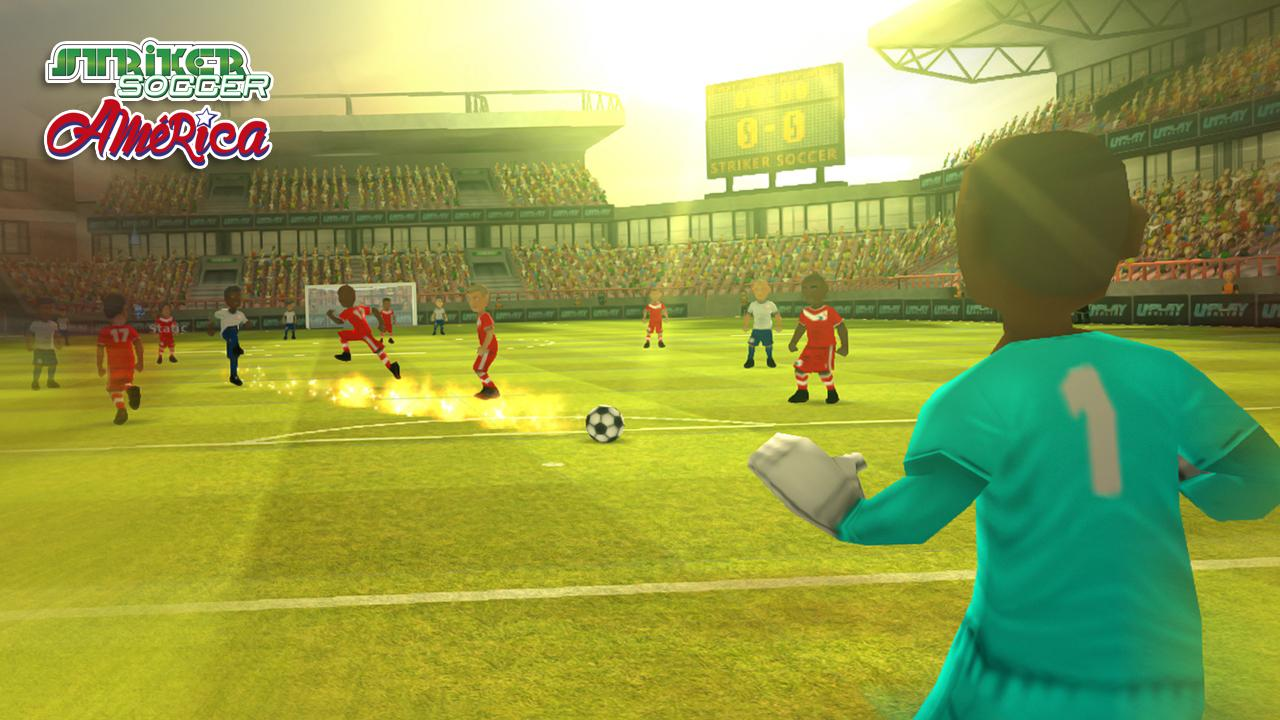 Striker Soccer America 2015- screenshot