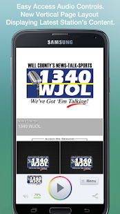 1340 WJOL - screenshot thumbnail