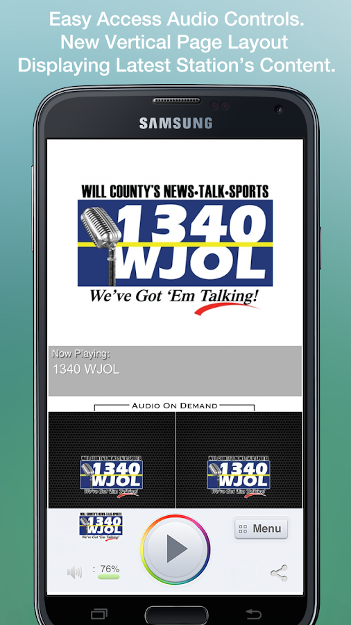 1340 WJOL - screenshot