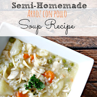 Semi-Homemade Sopa de Arroz con Pollo