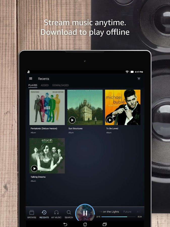 Amazon Music- screenshot