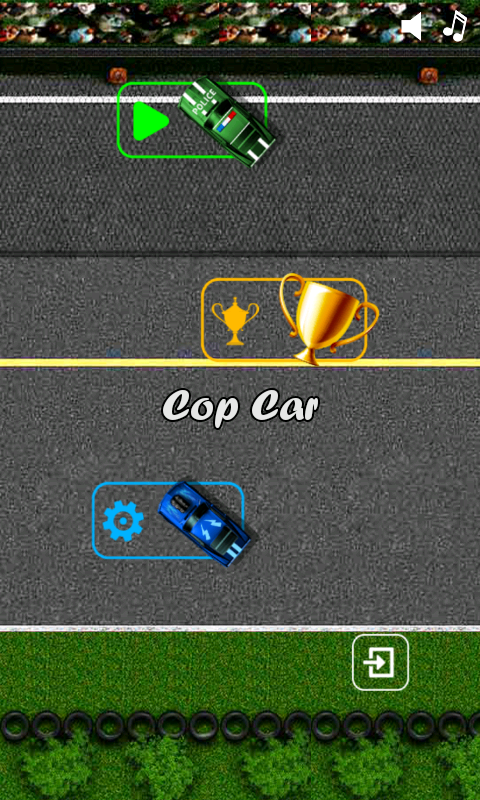 cop car games for free kids screenshot