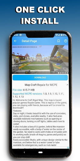 Map Craft Royale for MCPE ★ 1.5.1 screenshots 2