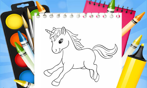 Unicorn Coloring Book: Kids Coloring Pages 3.0.1 screenshots 4