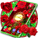 3D Red Rose Live Wallpaper 🌹 Spring Garden Themes icon