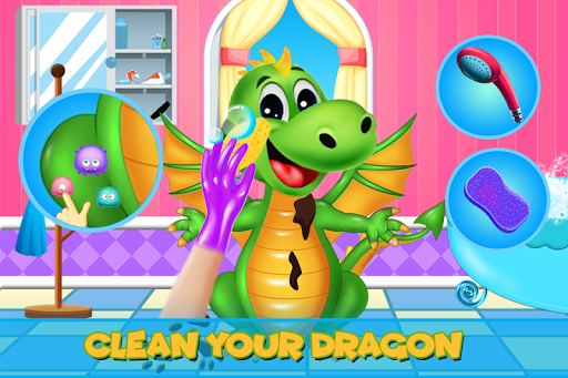 Dragon Cleanup Salon & Spa Game: Makeup & Makeover 1.0 screenshots 4