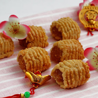 "Chinese New Year pineapple ""nastar"" tarts (Tat nenas)"
