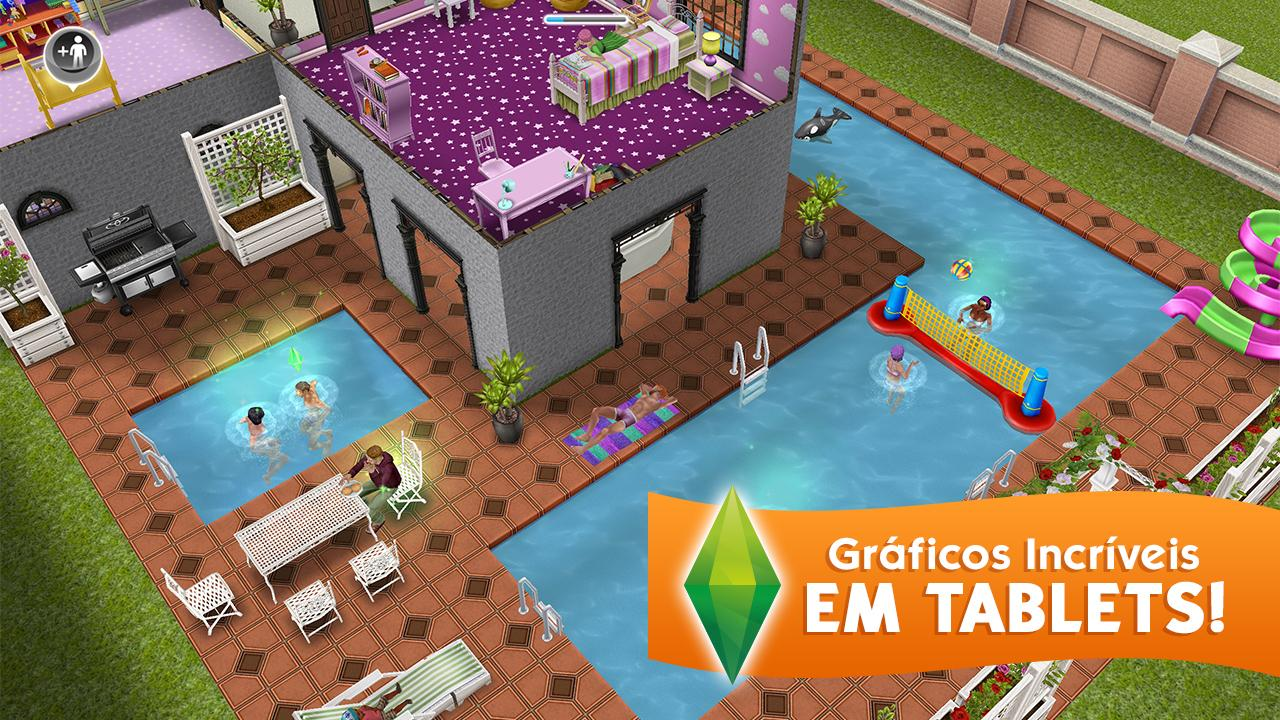 The sims freeplay apps para android no google play for Casa de diseno sims freeplay