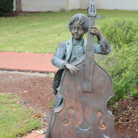 Boy and his Cello by Rohan Jackson - Buildings & Architecture Statues & Monuments (  )