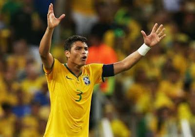 Thiago Silva imite Dingo