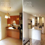 Kitchen remodel: befor & after