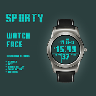 Sporty Watch Face moded unlimitted apk - Download latest version 1 0 103