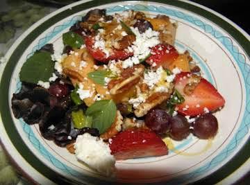 Dinner Fruit salad