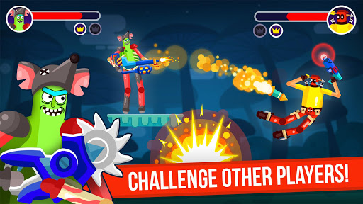 Télécharger Ragdoll Rage: Heroes Arena Brawl apk mod screenshots 2