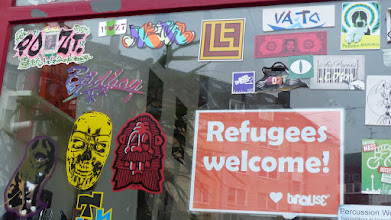 Photo: Stickerparade; Brause; PROZT VATO META KARL HEINZ SWAGGERT et al. et al.