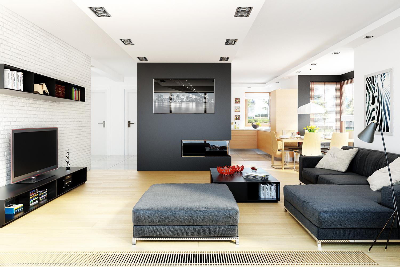 projekt domu mati g1 tin 329. Black Bedroom Furniture Sets. Home Design Ideas