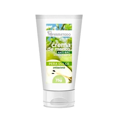 crema farmatodo manos pera dulce 75ml