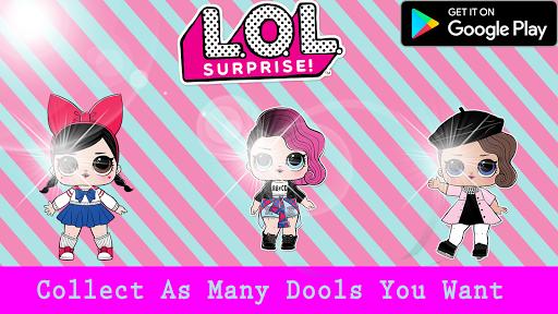 LOL Toy Dolls : Opening surprise eggs 1.0 screenshots 1