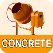 Concrete calculator - cement:sand:gravel:water