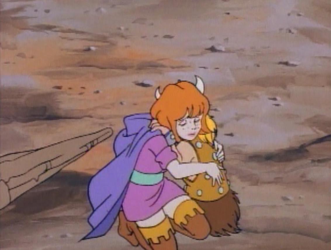 Sheila hugs Bobby