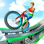 BMX Cycle Stunt Impossible Tracks