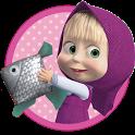 Masha and the Bear: Kids Fishing icon