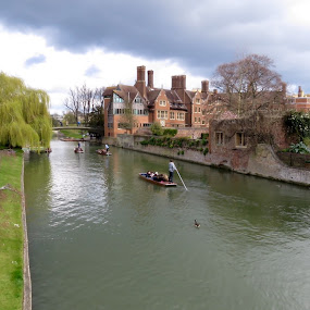 Cambridge  by Richard Lawes - Novices Only Landscapes