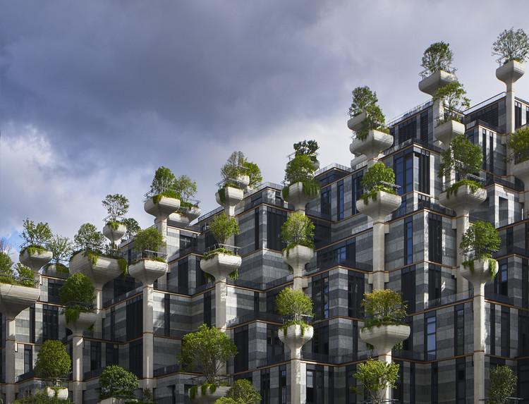 1,000 Trees. Image Courtesy of Heatherwick Studio