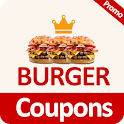 Food Coupons for Burger King 🍔🍹 icon