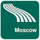 Moscow Map offline icon