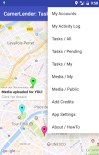 CamerLender: mobile camera crowd lending service- screenshot thumbnail