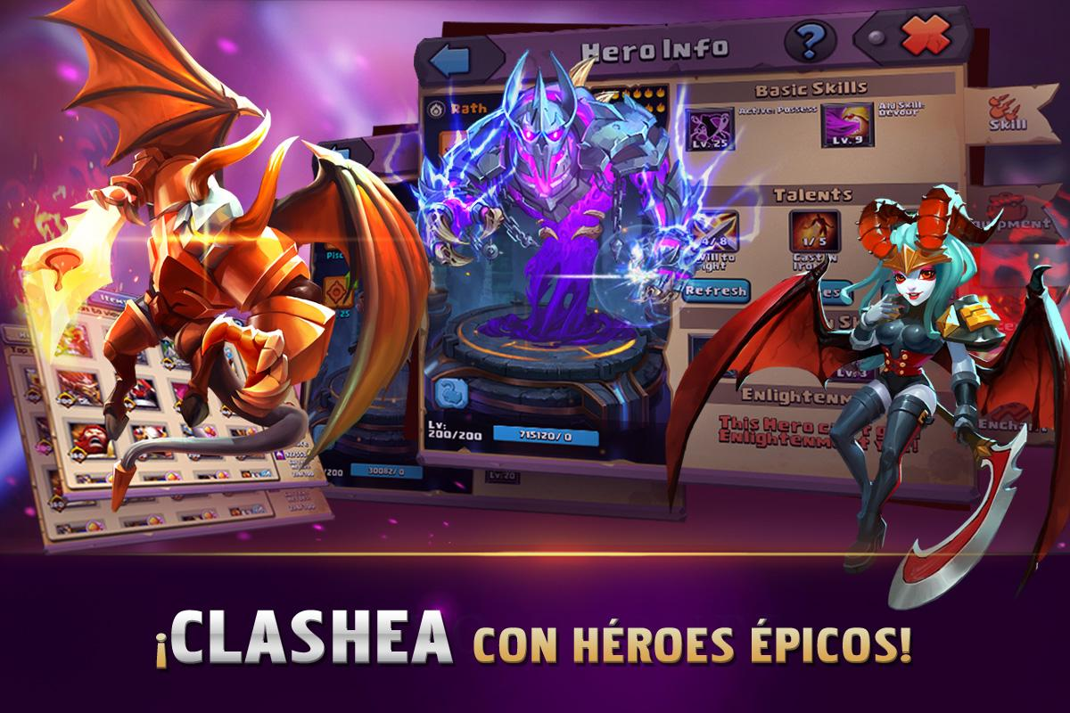 Clash of Lords 2: Español- screenshot