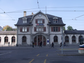 Photo: Oerlikon Bahnhof, just across the road from the hotel.