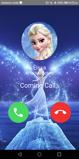 📞 Chat & 📱 video call from Elssa (Simulation) screenshot 1
